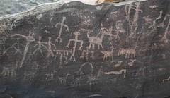 Petroglyphs / Petrified Forest National Park (Ron Wolf) Tags: anasazi anthropology archaeology nationalpark nativeamerican petrifiedforestnationalpark puebloan antelope anthromorph anthropomorph deer panel petroglyph rockart stickfigure superimposition zoomorph arizona