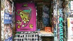 The Iron Monkey... (colourourcity) Tags: streetart streetartaustralia streetartnow melbourne burncity awesome colourourcity theironmonkey ironmonkey centreplace skulls skull