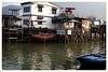 大澳漁村  Tai O Fishing Village (C. Alice) Tags: sea house village boat winter architecture building water reflection 2016 ilce6000 sony a6000 sonya6000 hongkong asia sonyepz1650mmf3556oss people