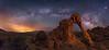 The Elephant Walks at Night (Wayne Pinkston) Tags: elephantrock elephant valleyoffire nevadapark night sky nightsky nightphotography nightlandscape nightscape starscape waynepinkston lightcrafter wwwlightcraftercom wwwwaynepinkstonphotocom stars starrynight milkyway galaxy cosmos theheavensstrophotography landscapeastrophotography widefieldastrophotography longexposure