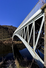 Bigsweir Bridge, Monmouthshire, UK (Christopher Smith1) Tags: bigsweir bridge monmouth monmouthshire uk road river wye gloucestershire llandogo upright vertical landscape reflection bank nature recreation leisure tranquil countryside rural explore