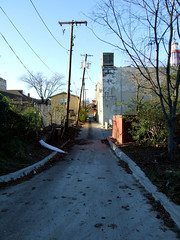 "Mysterious Alley behind Lakewood Theater • <a style=""font-size:0.8em;"" href=""http://www.flickr.com/photos/34843984@N07/14919768803/"" target=""_blank"">View on Flickr</a>"