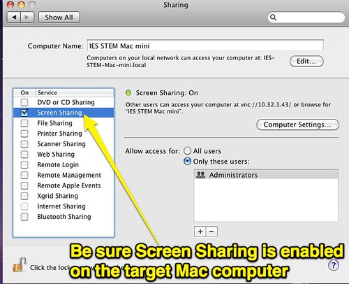 Enable Screen SHaring by Wesley Fryer, on Flickr