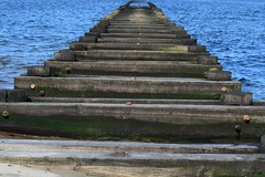 Middletown Beach Dock (Robert Scifo) Tags: ocean beach water newjersey fishing dock nikon sandy middletown