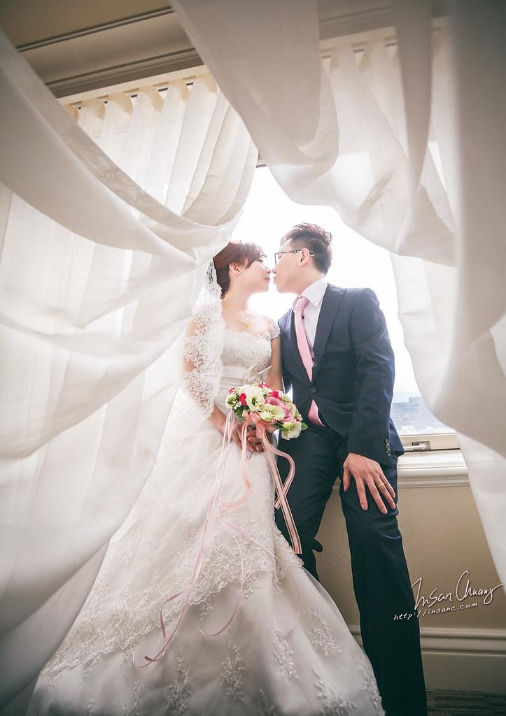 [婚禮記錄] Richard+Elsa // 訂結@ {台北西華飯店}