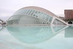 Valencia (papo1984) Tags: art valencia architecture canon calatrava architettura hdr oceanografic ciudaddelasartesylasciencias