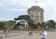 Greece, Macedonia, Thessaloniki, wandering trumpetist, sitting girl and cyclist at White Tower (Macedonia Travel & News) Tags: macedonia ancient culture vergina sun hellenic republic greecemacedonia nato eu fifa uefa un fiba macedonianstar verginasun aegeansea fyrom macedoniapeople macedonians peopleofmacedonia macedonianpeople thessaloniki mavrovo macedoniablog 3373991n macedoniagreece makedonia timeless macedonian macédoine mazedonien μακεδονια македонија travel prilep tetovo bitola kumanovo veles gostivar strumica stip struga negotino kavadarsi gevgelija skopje debar matka ohrid heraclea lyncestis macedoniatimeless