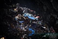 The Car Graveyard Mine (proj3ctm4yh3m) Tags: urban abandoned mine explore forgotten urbanexploration exploration derelict projectmayhem carcrash wrecks ue urbex cargraveyard slatemine undergroundlake proj3ctm4yh3m