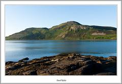 Holy Isle From Lamlash (flatfoot471) Tags: beach coast scotland dusk kingscross arran isleofarran holyisland ayrshire lamlashbay