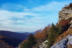 Hawksbill Mountain 2012-1023-126 (LostPineJim) Tags: autumn fall northcarolina linvillegorge burkecounty hawksbillmountain