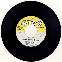 Shake Rattle and Roll (epiclectic) Tags: music art vintage rip vinyl 7 pop mp3 45 retro collection cover single 1967 record click scratch sleeve authentic 45rpm 7inch epiclectic arthurconley clicksandpops