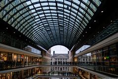When the new meets the old (Theocharis Kalamaras) Tags: berlin fashion architecture mall germany deutschland mitte bundesrat leipzigstrasse mallofberlin