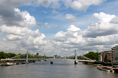 "View from Battersea Bridge • <a style=""font-size:0.8em;"" href=""http://www.flickr.com/photos/89972965@N03/15181230704/"" target=""_blank"">View on Flickr</a>"