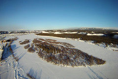 KAP-shipyards-park-yt-jan28-13-cameroneckert3s (Cameron Eckert) Tags: above winter wild sky snow kite art beauty river photography islands flying flyer lift view wind flight aerial yukon string wilderness kap perfection whitehorse kiteaerialphotography skill yukonriver gopro kiteaerialphotograpy