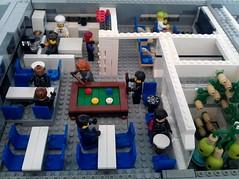 Aurora Deck 3 Mess Hall 2 (LegoSpaceGuy) Tags: brick ship lego space scifi spaceship sci starship moc classicspace