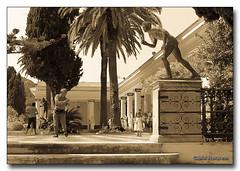 20110713_1138 (gabrielpsarras) Tags: girl statue kid dad play father daughter run corfu achilleion