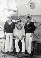 HMS Albion (Dundee City Archives) Tags: hms albion 1890 crew warship battleship destroyer royal navy naval fleet sailors old dundee photos weihaiwei china shiu fong seymour street station far east jacktar