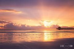 CSP_Pier 01 edit no noise WR (candicesmithphoto) Tags: sunset beach pier florida naples coastline