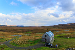 The Timber House from the little hill behind it (peripathetic) Tags: autumn building skye architecture canon scotland 5d isle 2014 skinidin timberhouse dualchas 5dmkiii 5dmk3 canoneos5dmk3