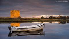 Threave Castle (.Brian Kerr Photography.) Tags: light castle sunrise reflections landscape scotland boat sony scottish scapes dumfriesandgalloway rowingboat castledouglas threavecastle a7r