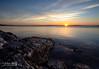 Good Morning from the Coast of Maine (43858-43861) (John Bald) Tags: morning sky rock sunrise dawn camden maine shore granite coastline daybreak penobscotbay islesboro wispycloud westpenobscotbay jobsisland jobisland