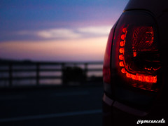 Ézaro-17 (Gon Cancela) Tags: car vw night golf volkswagen noche paisaje led galicia coche tsi mkvi mk6 ézaro