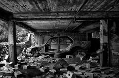 (Farlakes) Tags: abandoned car decay wreck burned farlakes