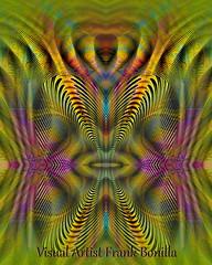 Heartbeat (Visual Artist Frank Bonilla) Tags: abstract color face lines digital frank artist heart visual heartbeat bonilla frankbonilla