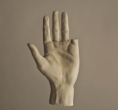 hand no.5 (Nick Who?) Tags: stone diy hand fingers clay marble sculpt scylpture