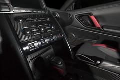 Our carbon fiber vinyl makes for beautiful interor trim accents.