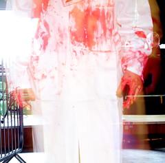 Apparitions roam amongst the mayhem (Tyrone Williams) Tags: halloween swansea canon scary gimp nun haunted event 7d horror nurse zombies asylum freaks hauntedhouse sfx monkeybar inmates prosthetics chinesesociety zombieapocalypsewales