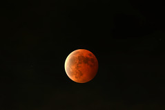 Total Lunar Eclipse... (necydalis) Tags: shadow sky sun moon nature japan night japanese tokyo eclipse nikon earth space shade astronomy nikkor total lunar afs astrologia x17 vrii 30028g d300s
