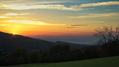 rhine valley on fire (micagoto) Tags: sunset explore vogesen südbaden explored