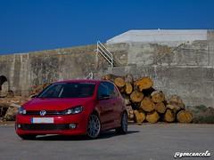 Helipuerto-3 (Gon Cancela) Tags: car vw golf volkswagen puerto paisaje galicia coche bbs tsi mkvi mk6 laxe helipuerto