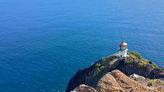 Lighthouse (uncleryan13) Tags: ocean lighthouse beach island hawaii pacific oahu