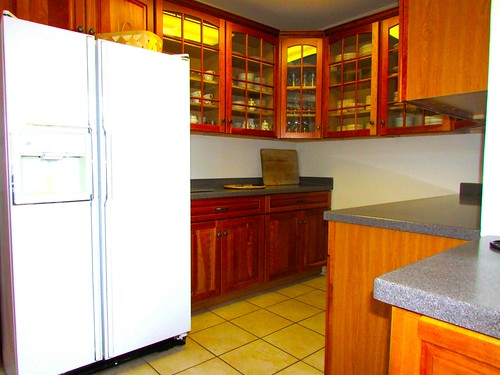 The Lodge comes complete with a fully stocked kitchen.