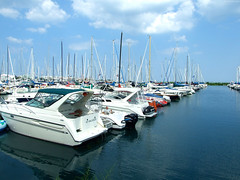 "Lake Michigan Yacht parking lot • <a style=""font-size:0.8em;"" href=""http://www.flickr.com/photos/34843984@N07/15547880412/"" target=""_blank"">View on Flickr</a>"