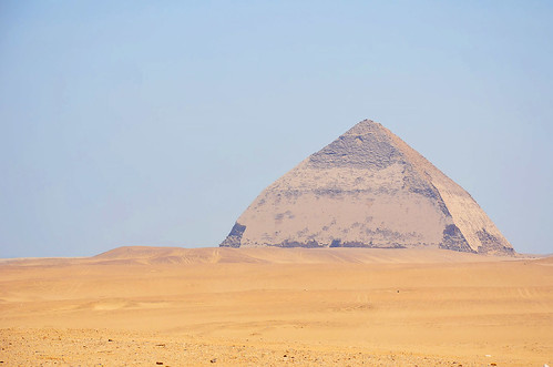 هرم سنفرو - دهشور مقبرة، الجيزة - مصر (Pirâmide Torta - Necrópole de Dahshur, Gizé - Egito)
