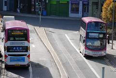342 & 346 (Callum Colville's Lothian Buses) Tags: ocean pink bus buses 22 volvo terminal gemini connect lothian lothianbuses gemini2 b9tl harliquins busesedinburgh busesb9tl buseslothianbuses