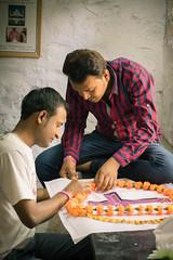 Service ProjectArt Workshop - Amartithi Banner making
