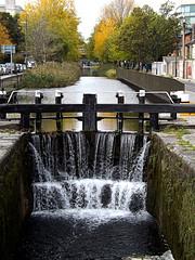 Dublin lock (jhonnyclickplane) Tags: dublin water canal lock