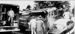 Wilson Bus Co. #27 (ThoseGuys119) Tags: newspaper junk schoolbus 1972 emergencydrill theeveningnews wallkillny firststudentinc wallkillvalleyschoolbusservicesinc wilsonbusco wardbodyworks