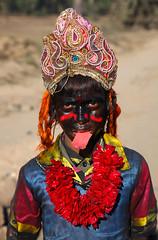 Bahurupi (jhuma_datta) Tags: westbengal purulia bahurupi maakali