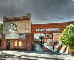 Google Street View - Pan-American Trek - Memphis, TX (kevin dooley) Tags: park street trek google memorial theater texas view memphis tx ritz hdr panamerican photomatix gsv googlestreetview kevindooley lessims