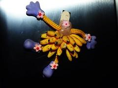 Decorao de Geladeira (2) (jemaambiental) Tags: party art cores arte decoration arranjosflorais batizado bolo festa decorao doces arranjos coresvivas arteira decoraodemesa decoraodeparede corescollors batizadoluza