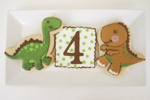 T Rex Cafe Birthday Cake