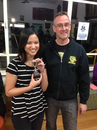 18. Winner up of the 2014 National Open Womens Anya Roslan (Victoria)