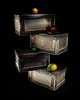 """""""Fruit Stand"""" (Timothy Thurman) Tags: longexposure stilllife lightpainting fruit fineart boxes paintwithlight woodenboxes"""