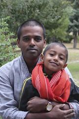 Lama look (Nagarjun) Tags: family bhutan malu tatu nag kanishka kinu malathi nagarjun takshila