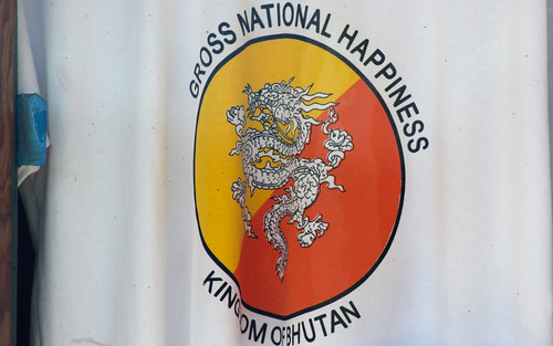 Bhutan Happiness t-shirt